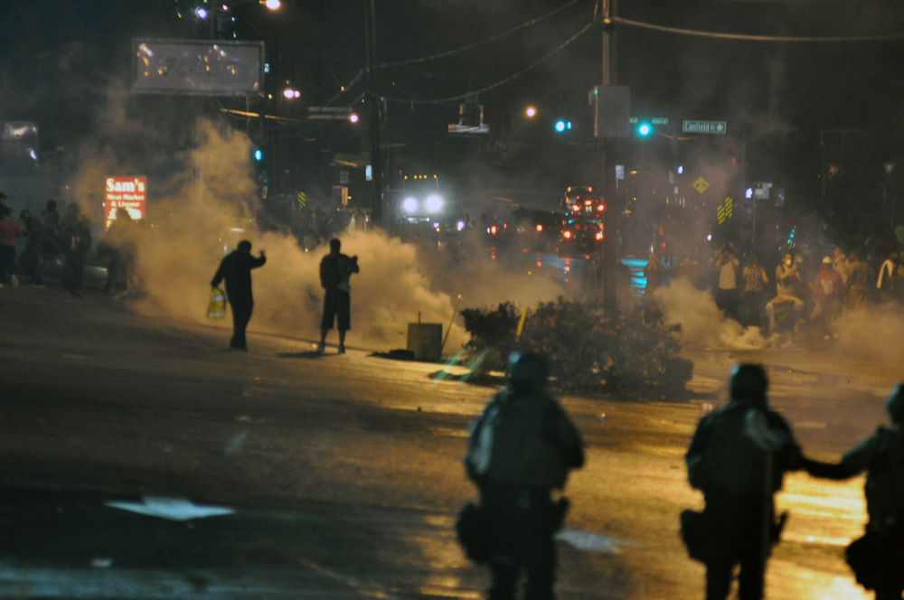 """Ferguson Day 6, Picture 44"" by Loavesofbread - Own work. Licensed under Creative Commons Attribution-Share Alike 4.0 via Wikimedia Commons"