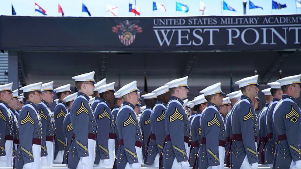 Riley Dosh at West Point graduation